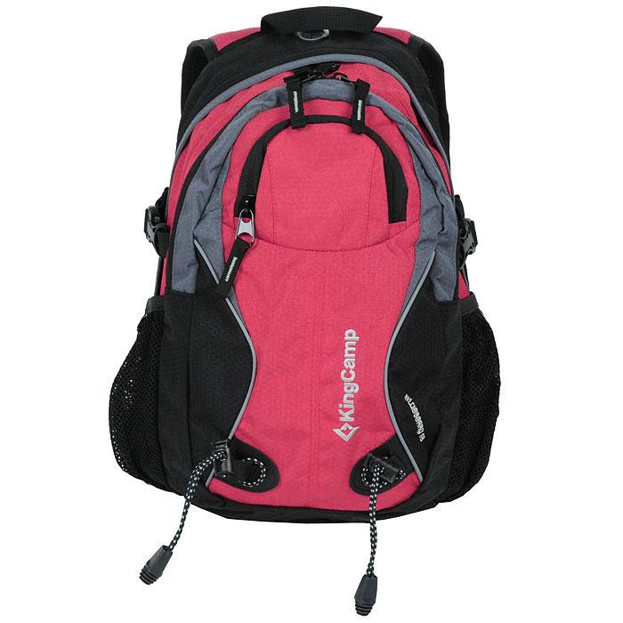 Рюкзак городской KingCamp Blueberry 18, цвет: коралловый, черныйУТ-000049292Рюкзак KingCamp Blueberry 18 предназначен для прогулок, путешествий и скалолазания. Он позволит вам взять с собой все необходимое. Рюкзак выполнен из прочного нейлона. Особенности рюкзака: водонепроницаемая ткань; система вентиляции спины ACS; три кармана; крепеж для ледоруба; фурнитура NIfCO; система для гидратора. Характеристики: Материал: полиэстер 600D, Honeycomb RipStop с PU покрытием. Объем рюкзака: 18 л. Размер: 45 см х 29 см х 10 см. Вес: 550 г. Цвет: красный, черный. Артикул: КВ3288. Производитель: Китай.
