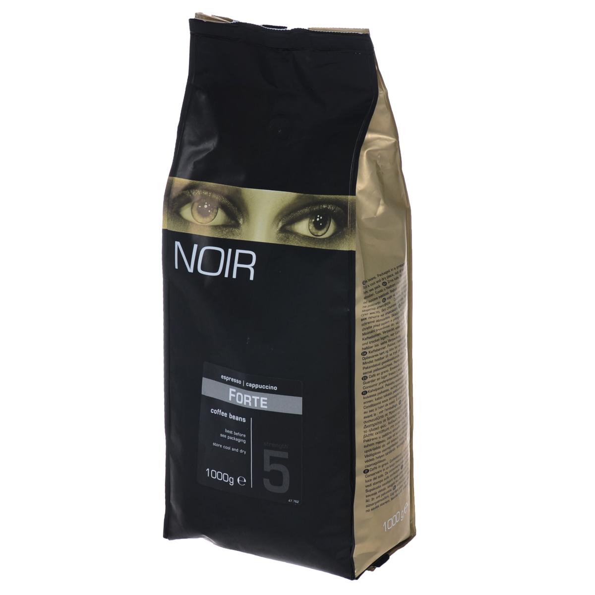 Noir Forte кофе в зернах, 1 кг8714858476611Кофе натуральный жареный в зернах Noir Forte - это качественный и крепкий напиток, который отличается пряным ароматом и насыщенным вкусом со сливочным оттенком. Данная кофейная смесь на 20% состоит из отборной Арабики и на 80% из Робусты. Большое количество Робусты обеспечивает воздушную шапку пены при приготовлении эспрессо. Мощный и будоражащий вкус кофе Noir Forte прекрасно подходит для тех кофеманов, которые не могут проснуться по утрам.