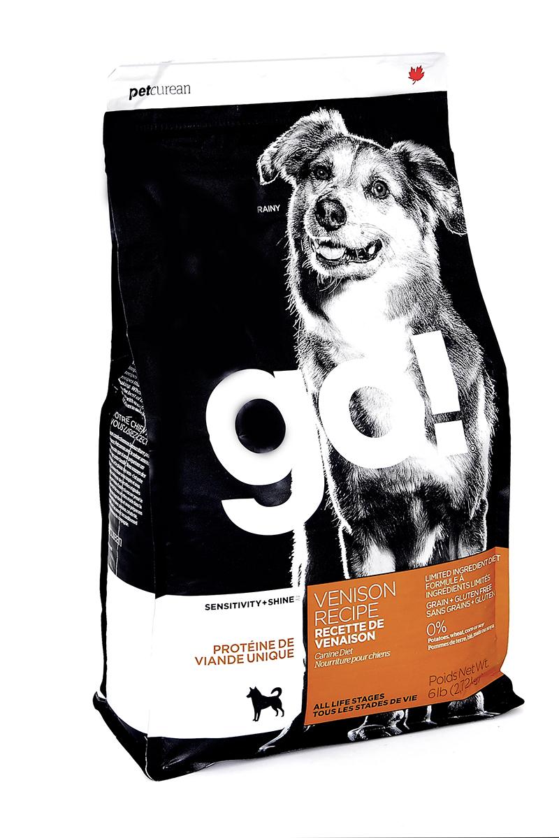Корм сухой GO! для щенков и собак с чувствительным пищеварением, беззерновой, с олениной, 2,72 кг10330Сухой корм GO! предназначен для щенков и собак. Первоклассная оленина в составе корма является единственным источником мяса. Отлично подходит для всех пород, для собак с особыми диетическими потребностями и пищевой чувствительности. Ключевые преимущества: - единственный источник белка - мясо оленя, - полностью беззерновой, - прибиотики и пробиотики нормализуют работу кишечника и улучшают работу пищеварительной системы, - жирные Омега кислоты - здоровье и блеск шерсти, - поддержка иммунной системы за счет фруктов и овощей, богатых антиоксидантами, - полное отсутствие субпродуктов, ГМО, искусственных консервантов, глютена, говядины, пшеницы, кукурузы и сои. Состав: филе свежей оленины, свежее мясо оленя, тапиока, горошек, чечевица, нут, масло канолы (консервированный смесью токоферолов), высушенный корень цикория, хлорид натрия, хлорид калия, хлорид холина, витамины (витамин А, витамин D3 добавки , витамин Е, инозитол, ...