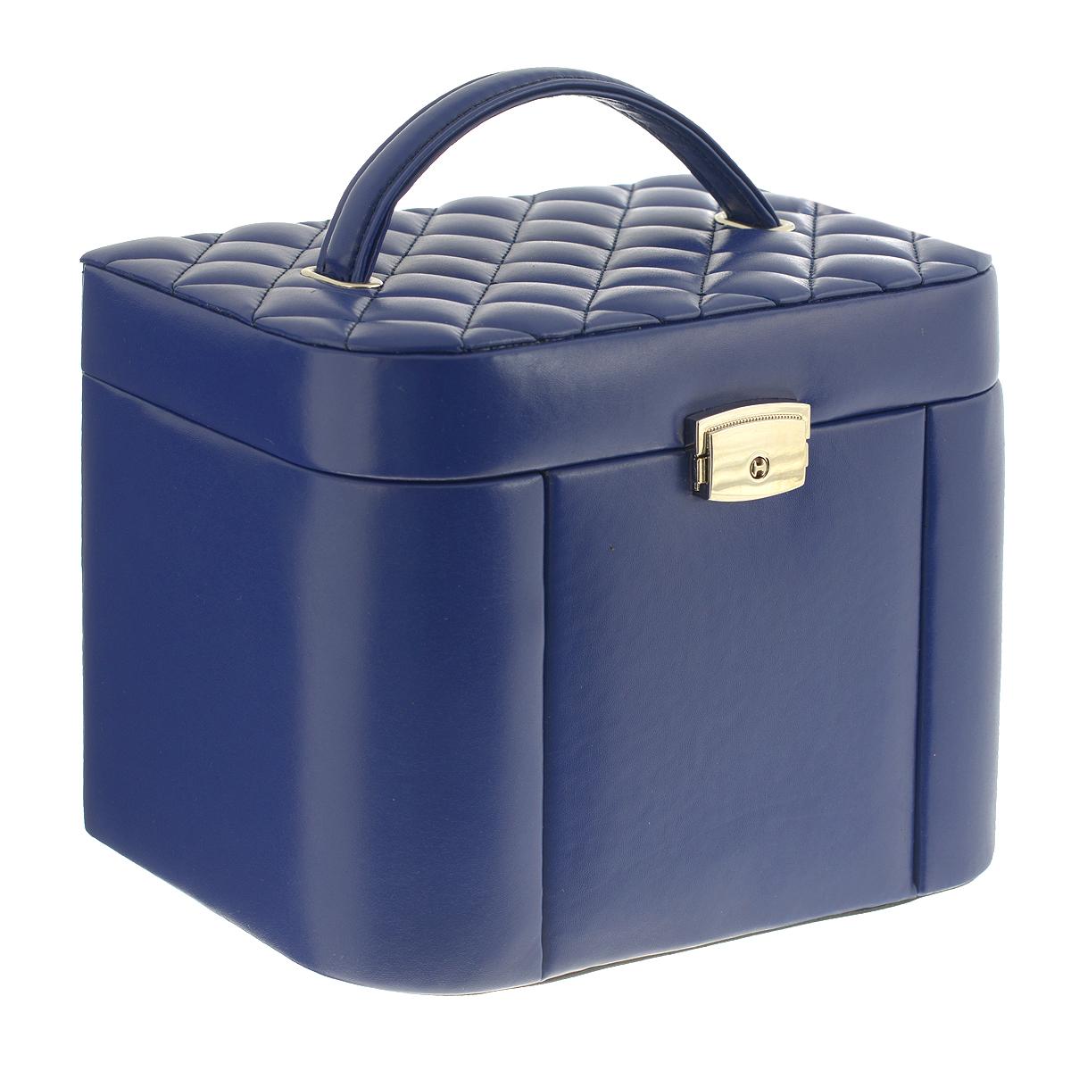 Graceful Rhythm lndustrial Co. Ltd Шкатулка для украшений, цвет: синий JB-01952