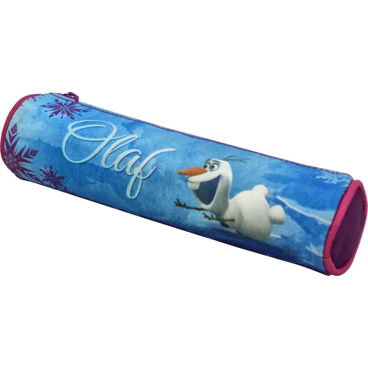 Disney Frozen Пенал-тубус Олаф34650_желтый, зеленыйПенал-тубус Disney Frozen обязательно придется по душе любой девочке, ведь ходить в школу вместе с любимым героем вдвойне интереснее. Он надежно сохранит все мелкие школьные принадлежности в целости и сохранности. Пенал изготовлен из прочной, качественной ткани, поэтому служить будет долго.Аксессуар декорирован ярким принтом (сублимированной печатью).