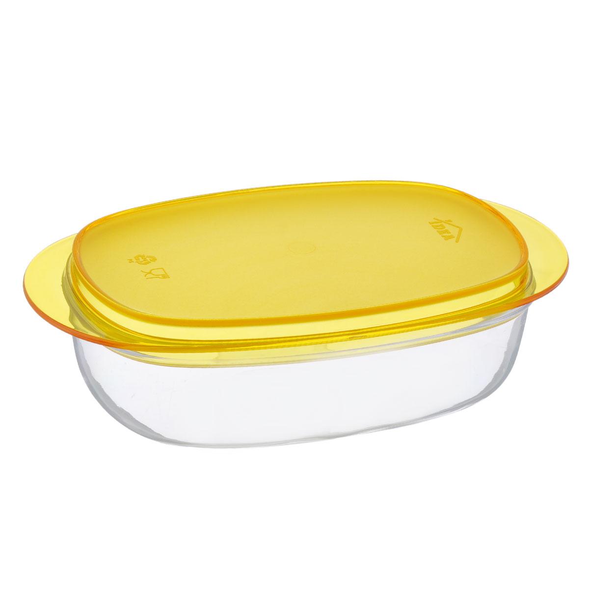 Масленка Idea Кристалл, цвет: оранжевый, прозрачныйVT-1520(SR)Масленка Idea Кристалл изготовлена из пищевого пластика. Изделие состоит из подноса и прозрачной крышки. Крышка плотно закрывается, сохраняя масло вкусным и свежим. Масленка Idea Кристалл станет прекрасным дополнением к коллекции ваших кухонных аксессуаров. Размер подноса: 19 см х 10,5 см х 1,5 см. Размер крышки: 16 см х 9,5 см х 5 см.