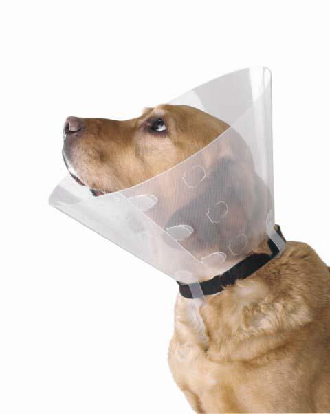 Защитный воротник для животных Kruuse Buster, высота 40 см0120710Защитный воротник Kruuse Buster изготовлен из высококачественного нетоксичного пластика, который позволяет сохранять углы обзора для животного. Изделие разработано для ограничения доступа собаки к заживающей ране или послеоперационному шву. Простота в эксплуатации позволяет хозяевам самостоятельно одевать и снимать защитный воротник с собаки. Подходит для собак крупных пород.Обхват шеи: 46-54 см.Высота воротника: 40 см.