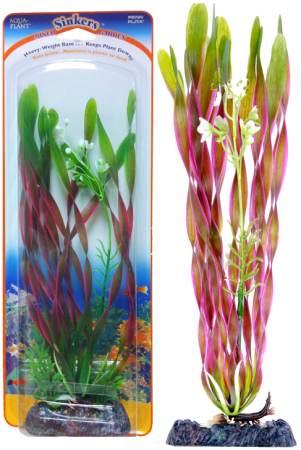 Растение-композиция CORKSCREW VALLISNERIA-CLUB MOSS 25см. ВАЛЛИСНЕРИЯ-МАЙЯКАP3GVLHКомпозиция их двух растений на массивном основани, удерживающем композицию на дне аквариума. Растения, объединенные на одном основании являются оригинальным элементом оформления аквариума.