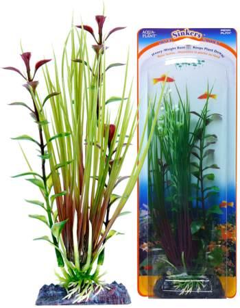 Растение-композиция HAIRGRASS-BLOOMING LUDWIGIA 20см. ЭЛЕОХАРИС-ЛЮДВИГИЯ0120710Композиция их двух растений на массивном основани, удерживающем композицию на дне аквариума. Растения, объединенные на одном основании являются оригинальным элементом оформления аквариума.
