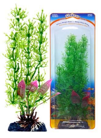 Растение-композиция STONEWORT-MALAY CRIP 20см. БЛЕСТЯНКА-КРИПТОКОРИНАP6GVMHКомпозиция их двух растений на массивном основани, удерживающем композицию на дне аквариума. Растения, объединенные на одном основании являются оригинальным элементом оформления аквариума.