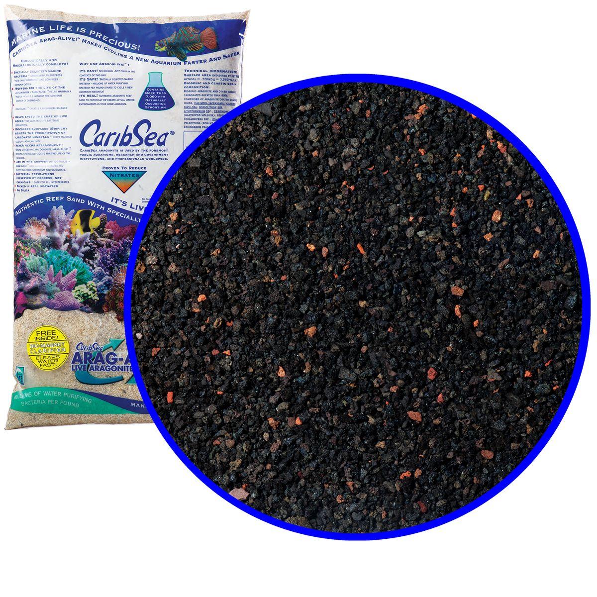 Аквагрунт морской HAVAIIAN BLACK черн/кр 0,25-3,5мм/9кг00797Arag-Alive! ™ - экологически точные грунты, разработаны в результате сотрудничества CaribSea с известными Аквариумами и Зоопарками, у которых подлинность морского пейзажа является обязательной. Грунты Arag-Alive! ™ готовы к использованию, позволяют легко настроить аквариум, содержат миллионы живых бактерий и создают естественный биологический баланс. Arag-Alive! ™ подавляет опасный синдром нового аквариума, сжимает цикл аммиака, и препятствует росту водорослей. Материал: Грунт