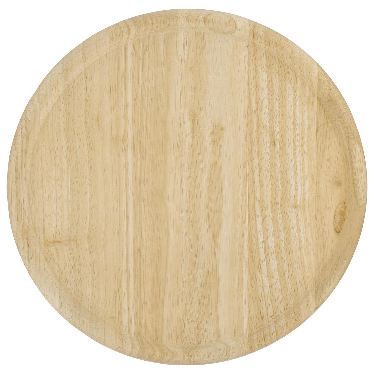 Доска для пиццы Kesper, диаметр 32 см6046-2Доска для пиццы Kesper изготовлена из каучукового твердого дерева. Бортик позволяет пицце не соскальзывать с поверхности. Доска удобна в эксплуатации. Подходит как для домашнего использования, так и для профессиональных точек общепита. Толщина: 1,5 см. Высота бортика: 0,5 см. Внутренний диаметр: 28 см
