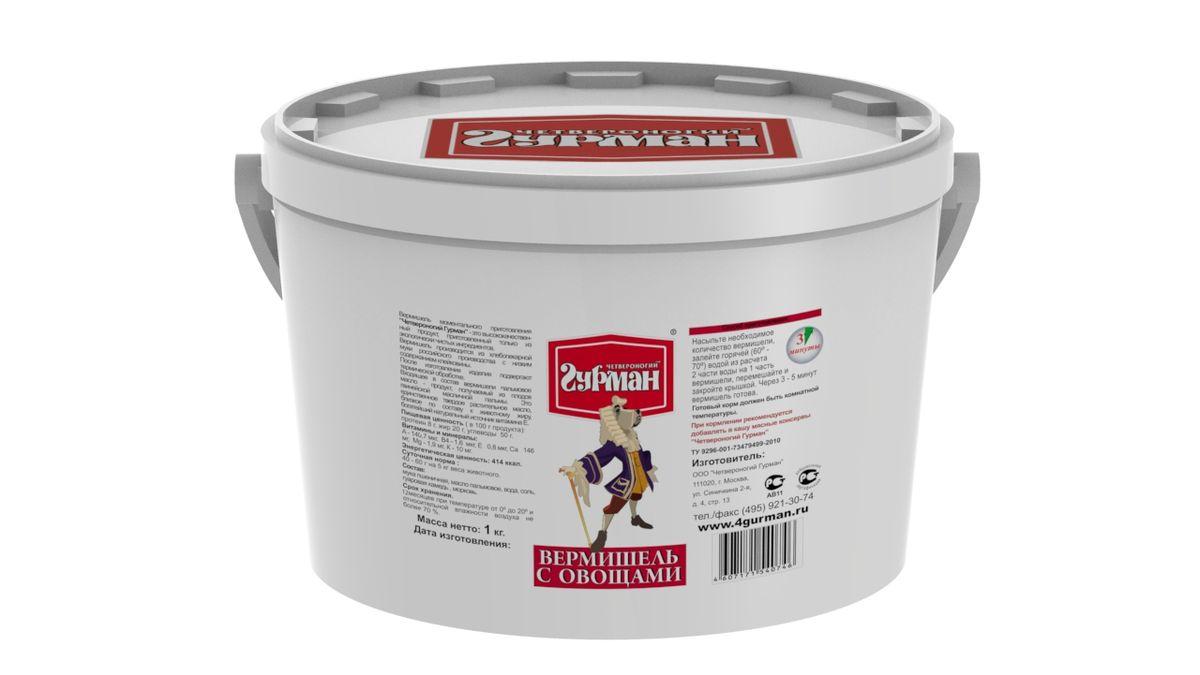 Вермишель моментального приготовления для собак Четвероногий гурман, с овощами, 1 кг0120710Вермишель моментального приготовления для собак Четвероногий гурман производится из хлебопекарной муки с низким содержанием клейковины, затем подвергается термической обработке. Продукт изготовлен из экологически чистых ингредиентов, не содержит красителей, ароматизаторов, консервантов. Полезные свойства вермишели: - В состав входит пальмовое масло. Его получают из плодов гвинейской масличной пальмы - это единственное твердое растительное масло, близкое по составу к животному жиру. - Богатейший источник витамина E, который важен для профилактики заболеваний глаз, нервной системы, мышц и кожи. - Благодаря высокой калорийности вермишель рекомендуется для набора веса животным.Для приготовления вермишель необходимо залить горячей (не кипящей) водой и подождать, пока блюдо остынет до комнатной температуры. Состав: мука пшеничная, масло пальмовое, вода, соль, гуаровая камедь, морковь. Пищевая ценность (в 100 г продукта): протеин 8 г, жир 20 г, углеводы 50 г. Витамины и минералы: A 140,7 мкг, В4 1,6 мкг, E 0,8 мкг, Ca 146 мг, Mg 1,9 мг, K 10 мг. Энергетическая ценность: 414 ккал. Товар сертифицирован.