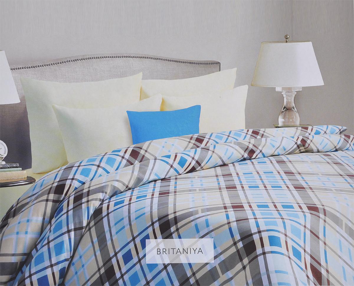 Комплект белья Mona Liza Britaniya, семейный, наволочки 70х70, цвет: светло-бежевый, голубой. 562405/3DAVC150Комплект белья Mona Liza Britaniya, выполненный из батиста (100% хлопок), состоит из двух пододеяльников, простыни и двух наволочек. Изделия оформлены рисунком в клетку. Батист - тонкая, легкая натуральная ткань полотняного переплетения. Батист, несомненно, является одной из самых аристократичных и совершенных тканей. Он отличается нежностью, трепетной утонченностью и изысканностью. Ткань с незначительной сминаемостью, хорошо сохраняющая цвет при стирке, легкая, с прекрасными гигиеническими показателями. В комплект входит: Пододеяльник - 2 шт. Размер: 145 см х 210 см. Простыня - 1 шт. Размер: 215 см х 240 см. Наволочка - 2 шт. Размер: 70 см х 70 см. Рекомендации по уходу: - Ручная и машинная стирка 40°С, - Гладить при температуре не более 150°С, - Не использовать хлорсодержащие средства, - Щадящая сушка, - Не подвергать химчистке.