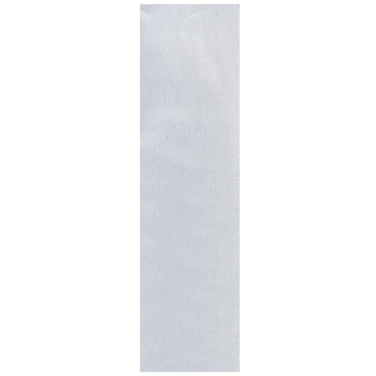 Бумага крепированная Проф-Пресс, металлизированная, цвет: серебристый, 50 х 250 смБ-2303Крепированная металлизированная бумага Проф-Пресс - отличный вариант для воплощения творческих идей не только детей, но и взрослых. Она отлично подойдет для упаковки хрупких изделий, при оформлении букетов, создании сложных цветовых композиций, для декорирования и других оформительских работ. Бумага обладает повышенной прочностью и жесткостью, хорошо растягивается, имеет жатую поверхность. Кроме того, металлизированная бумага Проф-Пресс поможет увлечь ребенка, развивая интерес к художественному творчеству, эстетический вкус и восприятие, увеличивая желание делать подарки своими руками, воспитывая самостоятельность и аккуратность в работе. Такая бумага поможет вашему ребенку раскрыть свои таланты.