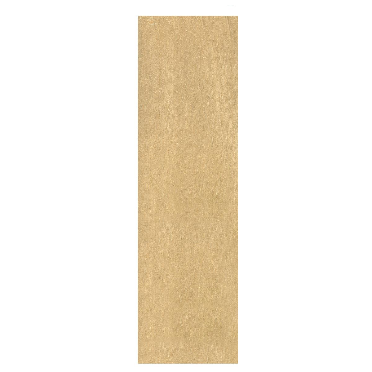Бумага крепированная Проф-Пресс, металлизированная, цвет: золотистый, 50 х 250 смБ-2302Крепированная металлизированная бумага Проф-Пресс - отличный вариант для воплощения творческих идей не только детей, но и взрослых. Она отлично подойдет для упаковки хрупких изделий, при оформлении букетов, создании сложных цветовых композиций, для декорирования и других оформительских работ. Бумага обладает повышенной прочностью и жесткостью, хорошо растягивается, имеет жатую поверхность. Кроме того, металлизированная бумага Проф-Пресс поможет увлечь ребенка, развивая интерес к художественному творчеству, эстетический вкус и восприятие, увеличивая желание делать подарки своими руками, воспитывая самостоятельность и аккуратность в работе. Такая бумага поможет вашему ребенку раскрыть свои таланты.