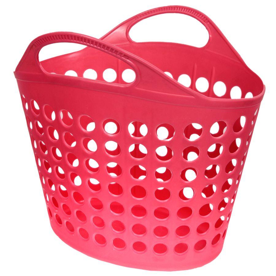 Корзина для белья Изумруд, цвет: темно-розовый, 10 кг412_темно-розовыйКорзина для белья Изумруд изготовлена из прочного пластика. Корзина устойчива к перепадам температур и влажности, поэтому идеально подходит для ванной комнаты. Изделие оснащено двумя ручками. Можно использовать для хранения белья, детских игрушек, домашней обуви и прочих бытовых вещей. Элегантный дизайн подойдет к интерьеру любой ванной. Высота корзины: 42 см. Размер корзины (по верхнему краю): 41 х 41 см.