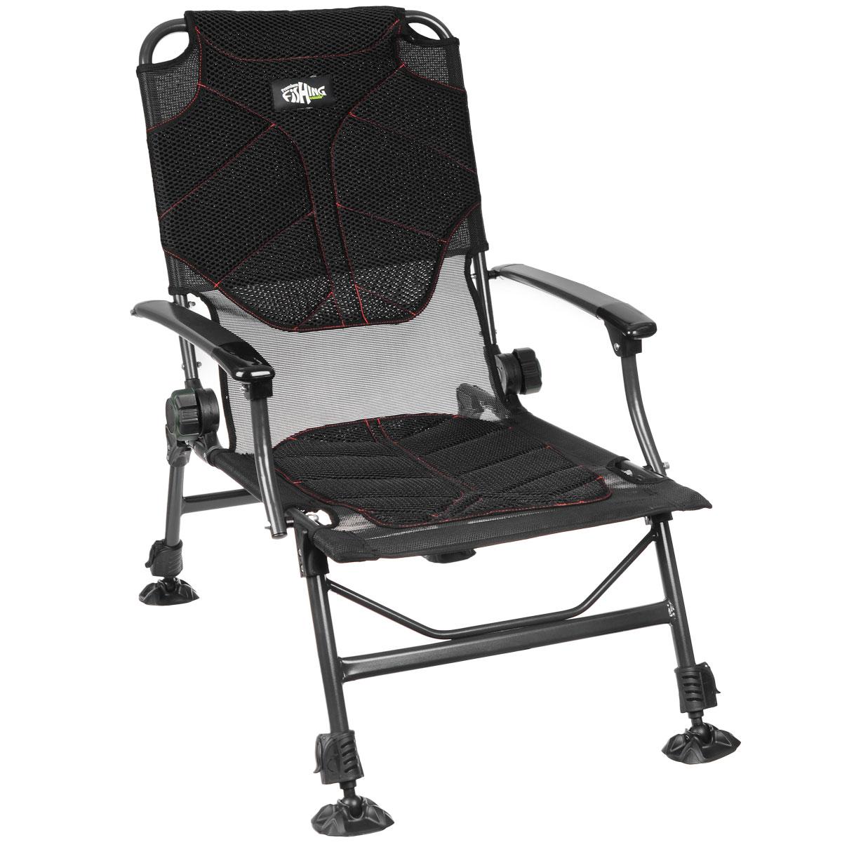 Кресло карповое Norfin Manchester NF, 55 см х 52 см х 97 смNF-20611Кресло складное Norfin Manchester NF - это отличный выбор для рыболовов. Уникально разработанный влагостойкий, дышащий матрас создает максимальный комфорт при любой погоде. В жару кресло будет проветриваться сквозь отверстия сетки в сиденье и на спинке, в дождь оно будет пропускать влагу и быстро сохнуть. Наклон спинки регулируется. Кресло имеет ножки с возможностью независимой регулировки высоты и широкими опорами.