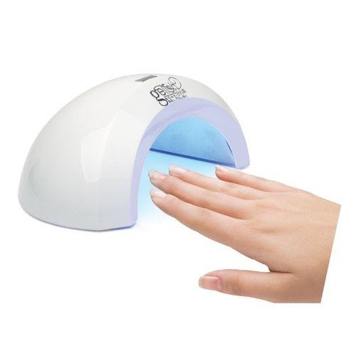 Gelish Mini LED аппарат PRO-45, 6 Вт04102Компактный эргономичный LED-аппарат идеально подходит для полимеризации гель-лаков и препаратов из системы Gelish. Оснащен таймером на 45 секунд и тремя светодиодными лампами по 2 Вт каждая. Ресурс работы светодиодов 50 000 часов (приблизительно 5 лет), поэтому не придется менять лампы. пластик, светодиоды