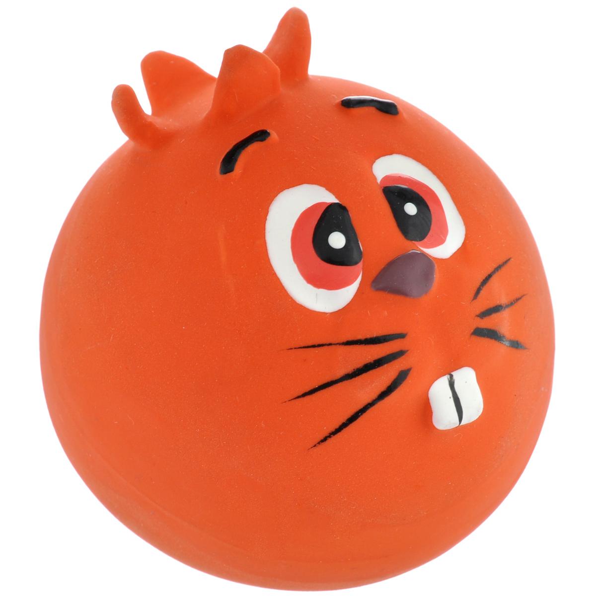 Игрушка для собак I.P.T.S. Мяч с мордочкой, цвет: красный, диаметр 7 см0120710Игрушка для собак I.P.T.S. Мяч с мордочкой, изготовленная из высококачественного латекса, выполнена в виде мячика с милой мордочкой. Такая игрушка порадует вашего любимца, а вам доставит массу приятных эмоций, ведь наблюдать за игрой всегда интересно и приятно. Оставшись в одиночестве, ваша собака будет увлеченно играть.Диаметр: 7 см.
