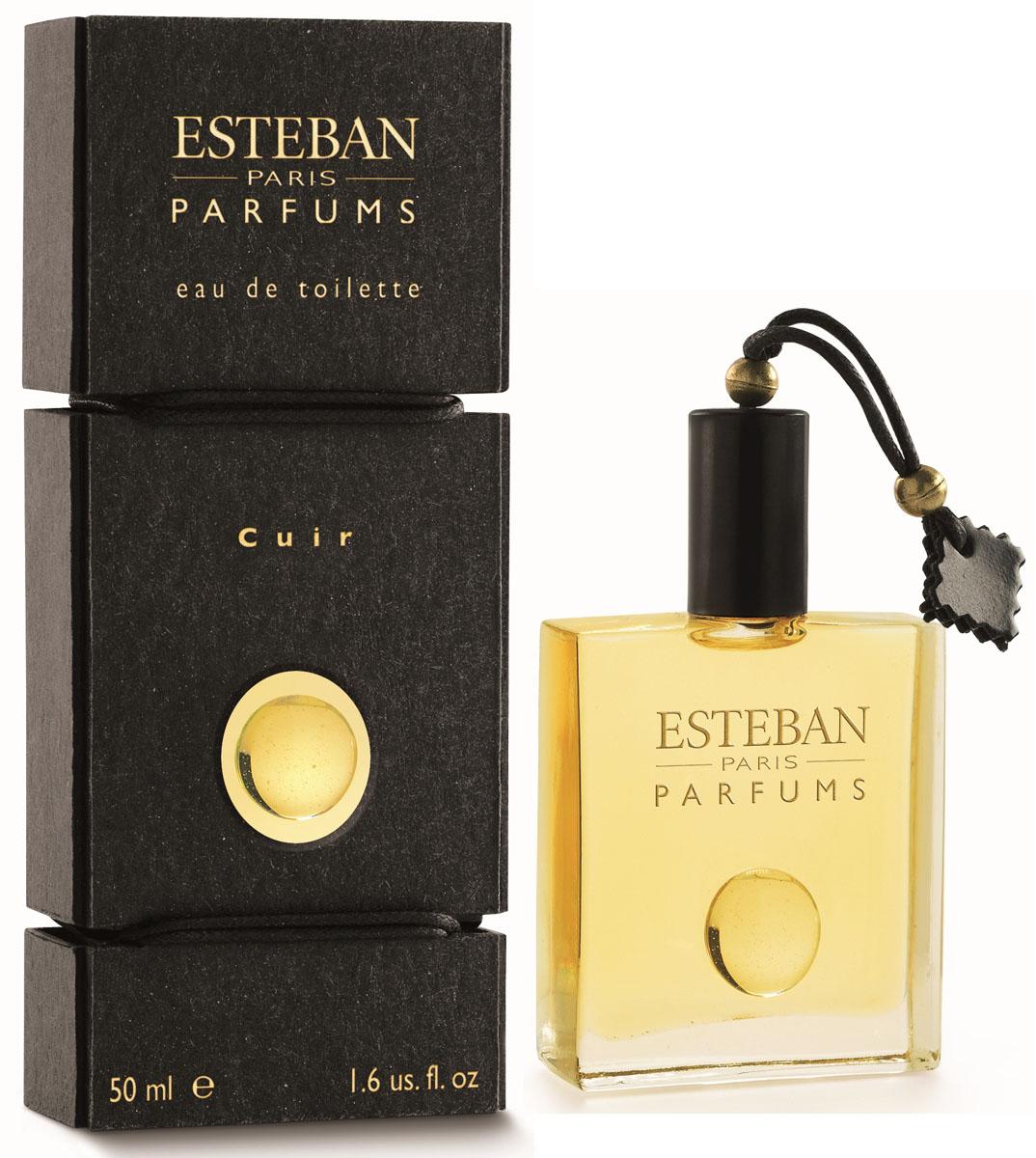 Esteban Collection Les Matieres Туалетная вода Cuir 50 млCPA-049