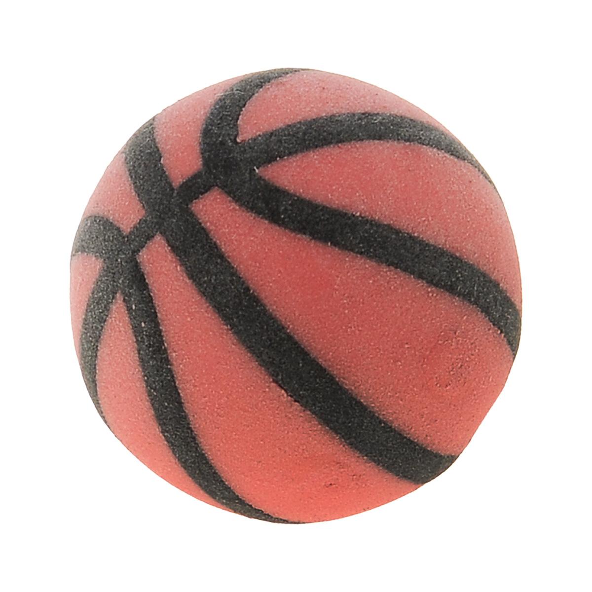 Brunnen Ластик Мяч баскетбольный, цвет: оранжевыйFS-54103Ластик Мяч баскетбольный станет незаменимым аксессуаром на рабочем столе не только школьника или студента, но и офисного работника. Он легко и без следа удаляет надписи, сделанные карандашом.
