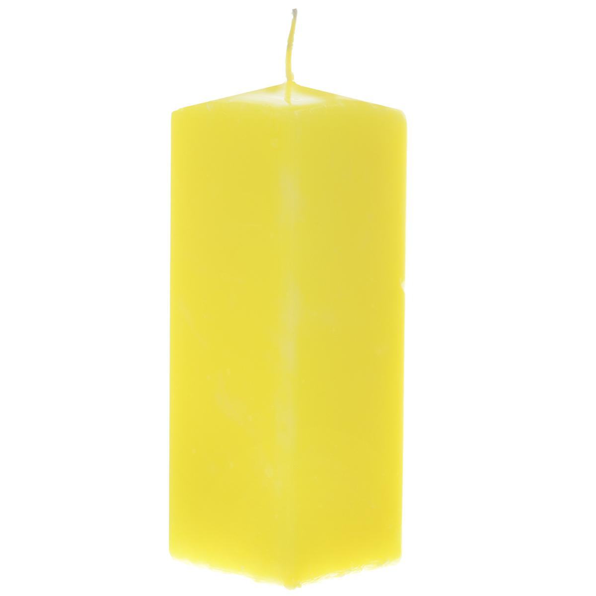 Свеча Sima-land Аромат огня, цвет: желтый, высота 15 см. 197618197618Свеча Sima-land Аромат огня выполнена из парафина в классическом стиле. Изделие порадует вас ярким дизайном. Такую свечу можно поставить в любое место и она станет ярким украшением интерьера. Свеча Sima-land Аромат огня создаст незабываемую атмосферу, будь то торжество, романтический вечер или будничный день.