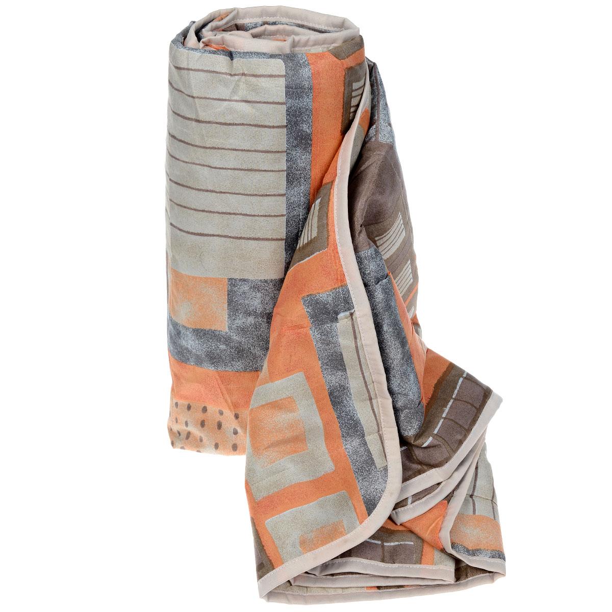Одеяло летнее OL-Tex Квадраты, наполнитель: полиэфирное волокно Holfiteks, 200 х 220 смМХПЭ-22-1 _коричневый, оранжевыйЛегкое летнее одеяло OL-Tex Квадраты создаст комфорт и уют во время сна. Чехол выполнен из полиэстера и оформлен красочным цветочным рисунком. Внутри - современный наполнитель из полиэфирного высокосиликонизированного волокна холфитекс, упругий и качественный. Прекрасно держит тепло. Одеяло с наполнителем холфитекс легкое и комфортное. Даже после многократных стирок не теряет свою форму, наполнитель не сбивается, так как одеяло простегано и окантовано. Рекомендации по уходу: - Ручная и машинная стирка при температуре 30°С. - Не гладить. - Не отбеливать. - Нельзя отжимать и сушить в стиральной машине. - Сушить вертикально. Размер одеяла: 200 см х 220 см. Материал чехла: 100% полиэстер. Материал наполнителя: холфитекс.
