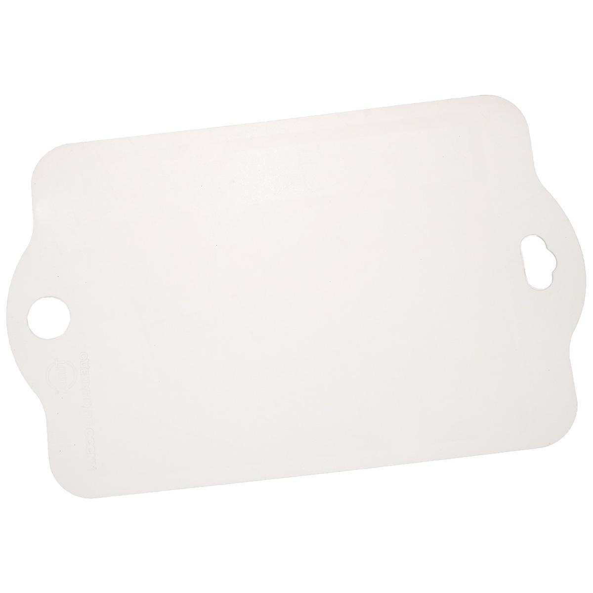 Доска разделочная TimA, 41 см х 26 смРД-4126Гибкая разделочная доска TimA, изготовленная из высококачественного пластика, займет достойное место среди аксессуаров на вашей кухне. Благодаря гибкости, с доски удобно высыпать нарезанные продукты. Она не тупит металлические и керамические ножи. Не впитывает влагу и легко моется. Обладает исключительной прочностью и износостойкостью. Доска TimA прекрасно подойдет для нарезки любых продуктов.