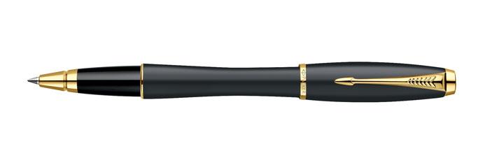 Роллер URBAN Muted Black GT. PARKER-S0850450PARKER-S0850450Ручка-роллер Паркер Урбан Мьютед Блэк Джи Ти. Инструмент для письма, линия письма - средняя, цвет чернил - синий, в подарочной упаковке. Произведено в Китае.