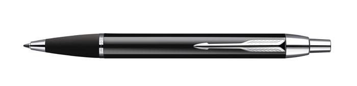 Ручка шариковая IM Black CT. PARKER-S0856430PARKER-S0856430Шариковая ручка Паркер Ай Эм Блэк Си Ти. Инструмент для письма, линия письма - средняя, цвет чернил синий. Произведено в Китае.
