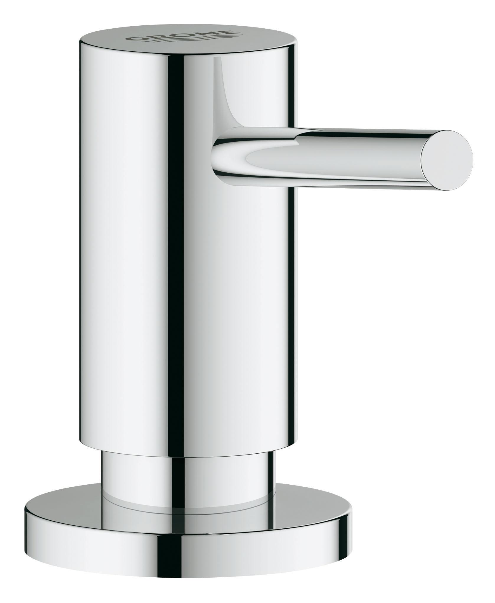 Дозатор жидкого мыла GROHE. 4053500040535000Для жидкого мыла, Запасная емкость 0,4 л GROHE StarLight хромированная поверхность