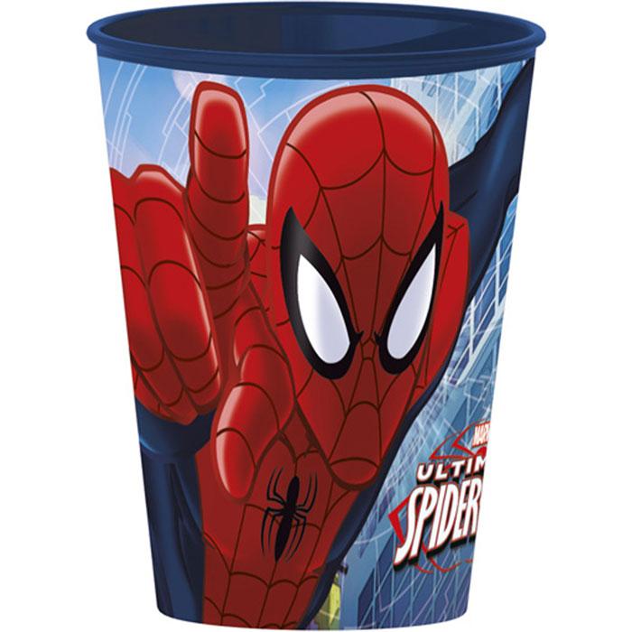 Disney Стаканчик пластмассовый Spider-Man, 260 мл115510Яркий стаканчик Spider-Man доставит вашему малышу массу удовольствия. Изготовлен стаканчик из высококачественного полипропилена красного цвета. Со стенок стакана на вашего малыша смотрит герой любимого фильма Человек-Паук. Прекрасное дополнение к праздничному столу на детской вечеринке! Такой подарок станет не только приятным, но и практичным сувениром, добавит ярких эмоций вашему ребенку!
