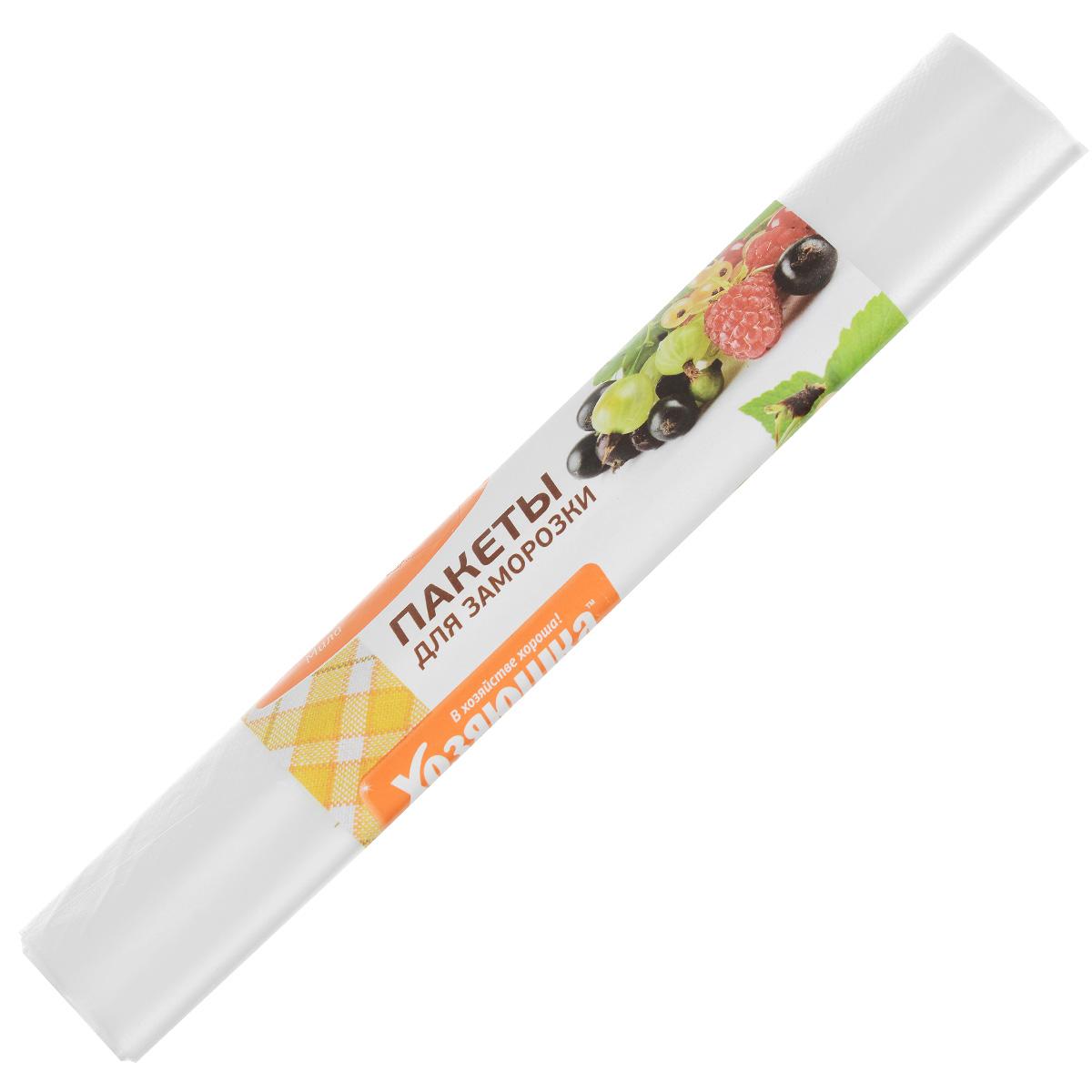 Пакет для хранения и замораживания продуктов Хозяюшка Мила, 3 л9009Пакет для хранения и замораживания продуктов Хозяюшка Мила изготовлен из пищевого полиэтилена. В таком пакете удобно хранить любые пищевые продукты. Также подходит для заморозки.