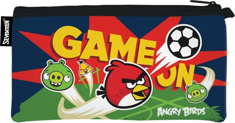 Пенал неопреновый на молнии. Angry Birds72523WDШкольный пенал для канцелярских принадлежностей вместит в себя все самое необходимое для учебы. Пенал очень яркий и красочный. Изображения любимых героев мультфильмов поднимут настроение ученику, что тоже немаловажно.Пенал имеет надежный замок-молнию.