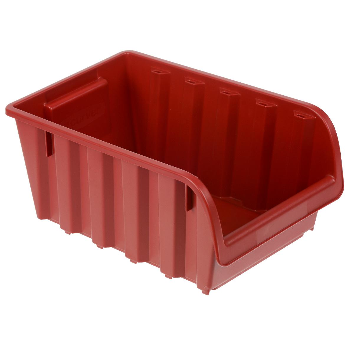 Емкость складская Curver Profi №5, цвет: красный, 34 х 20 х 15,5 см4955_красныйЕмкость Curver Profi №5 выполнена из высококачественного пластика и предназначена для хранения инструментов и различных складских мелочей, таких как гвозди, болты, гайки. Удобная конструкция изделия позволяет без труда достать из емкости нужную вещь. Емкость Curver Profi №5 будет незаменимой дома, на даче или в гараже.