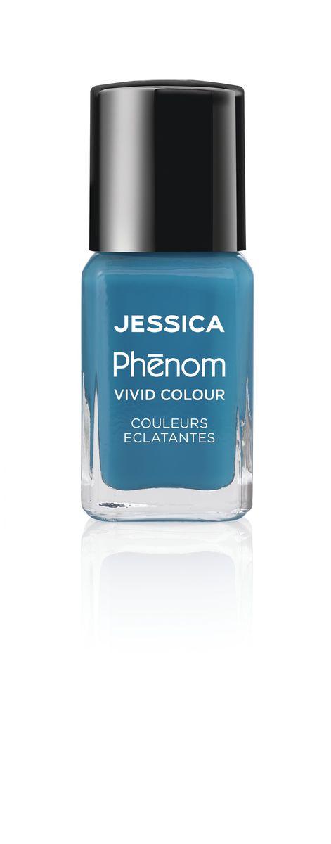 Jessica Phenom Лак для ногтей Vivid Colour Fountain Bleu № 08, 15 мл5010777142037Система покрытия ногтей Phenom обеспечивает быстрое высыхание, обладает стойкостью до 10 дней и имеет блеск гель-лака. Не нуждается в использовании LED/UV ламп. Легко удаляется, как обычный лак для ногтей. Покрытия JESSICA Phenom являются 5-Free и не содержат формальдегид, формальдегидных смол, толуола, дибутилфталат и камфору. Как наносить: Система Phenom – это великолепный маникюр за 1-2-3 шага: ШАГ 1: Базовое покрытие – нанесите в два слоя базовое средство JESSICA, подходящее Вашему типу ногтевой пластины.ШАГ 2: Цвет – нанесите в два слоя любой оттенок Phenom Vivid Colour.ШАГ 3: Закрепление – нанесите в один слой Phenom Finale Shine Topcoat для получения блеска гель-лака.