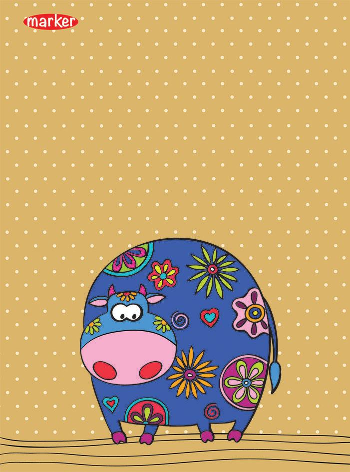 Marker Записная книжка Flolar Pets Коровка 40 листов в клеткуM-850640-1Записная книжка формата А6 Flolar Pets подойдет для различных работ не только студенту и школьнику, но и для личных записей любому современному человеку. Обложка выполнена из мелованного картона с оригинальным дизайнерским рисунком. Внутренний блок состоит из 40 листов в клетку. Уникальная технологии крепления - прошивка шелковой нитью по сгибу изделия - это отдельный эффектный элемент дизайна и повышенные прочность и удобство в использовании. Закругленные углы надолго сохраняют отличный вид изделия.