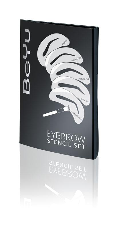 BeYu Набор трафаретов для бровей Eyebrow Stencil SetCAR181-1301-ALТрафареты изготовлены из инновационного материала, адаптирующийся под форму бровной дуги, что облегчает нанесение. Мягкая кисточка в комплекте. Прекрасное дополнение к теням для бровей BeYu Catwalk Star Eyebrow Powder. Для создания индивидуальной формы ваших бровей!