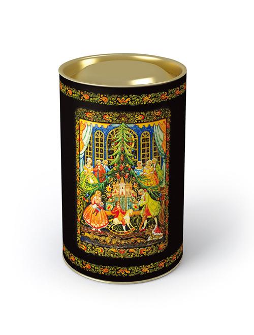 Тубус под чай и конфеты мини Щелкунчик©9*14см4610009211541