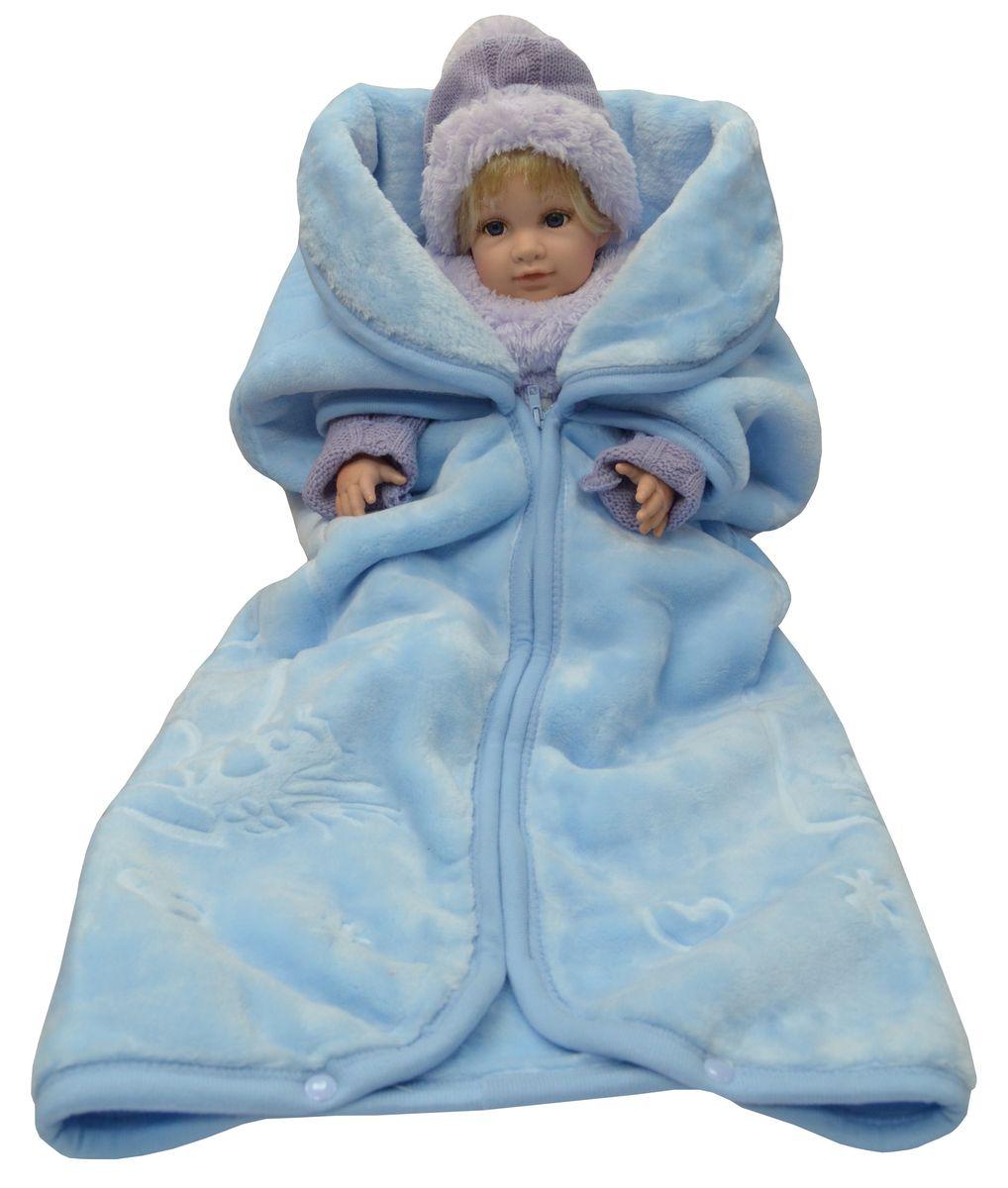 Плед-накидка Bonne Fee 80х90 см, однотонная, жаккардовый рисунок, голубойОНДК/200-голНежность, забота, любовь и тепло - этими словами можно описать плед-накидку для малышей. Этот материал очень приятный и мягкий на ощупь, но при этом плотный и надежный. Отличное качество и практичность! Любите своего ребенка и дарите ему лучшее!