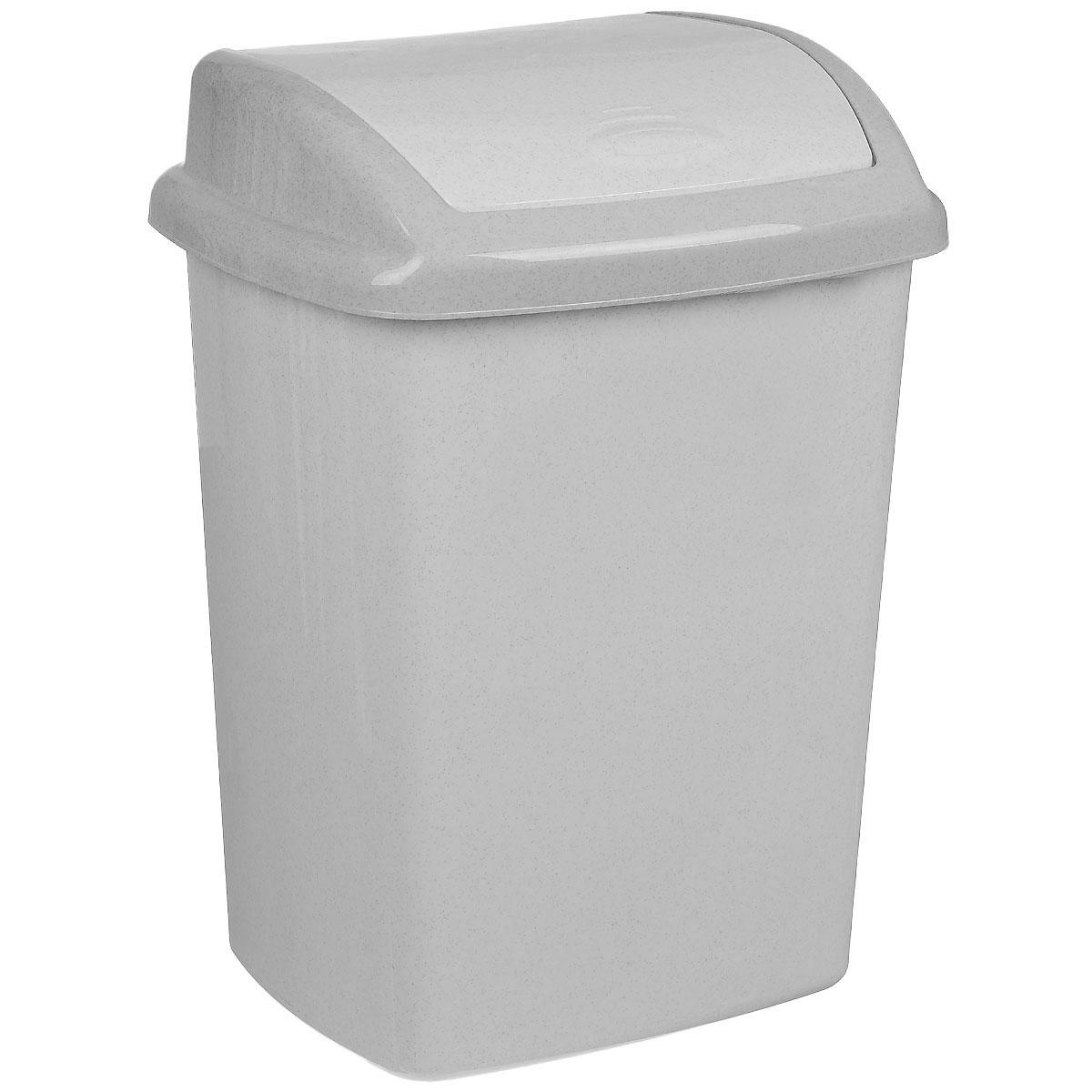 Контейнер для мусора Curver Доминик, цвет: серый люкс (гранит), 25 л5322_серый люкс / гранитКонтейнер для мусора Curver Доминик изготовлен из прочного пластика. Контейнер снабжен удобной крышкой с подвижной перегородкой. В нем удобно хранить мелкий мусор. Благодаря лаконичному дизайну такой контейнер идеально впишется в интерьер и дома, и офиса.