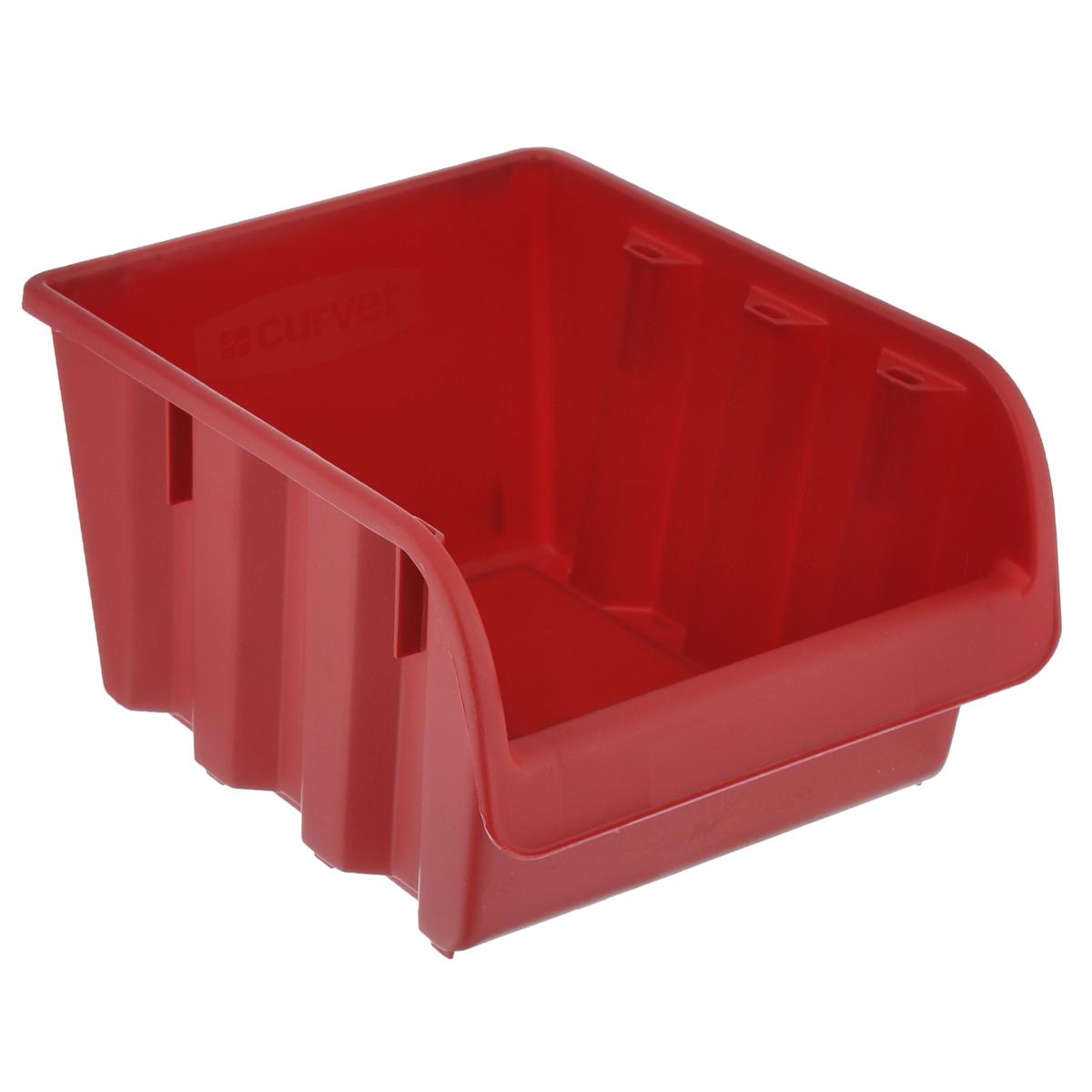 Емкость складская Curver Profi №4, цвет: красный, 24 х 17,2 х 13 см4954_красныйЕмкость Curver Profi №4 выполнена из высококачественного пластика и предназначена для хранения инструментов и различных складских мелочей, таких как гвозди, болты, гайки. Удобная конструкция изделия позволяет без труда достать из емкости нужную вещь. Емкость Curver Profi №4 будет незаменимой дома, на даче или в гараже.