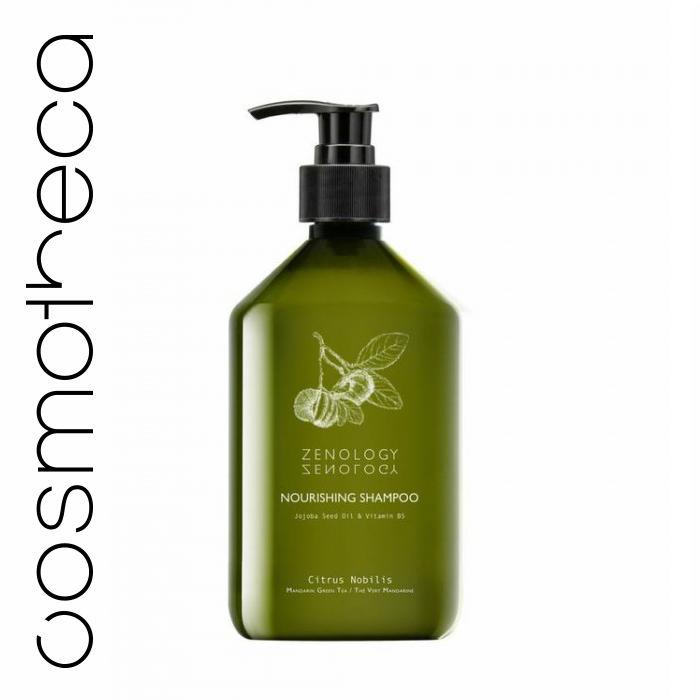 Zenology Питательный Шампунь для волос Зеленый Чай 500 млБ33041_шампунь-барбарис и липа, скраб -черная смородинаШампунь с бодрящим ароматом зеленого чая подходит для всех типов волос. Придает объем, блеск, упругость и питает волосы. Он великолепно пенится, мягко очищает кожу головы и волосы, делая их послушными и блестящими.