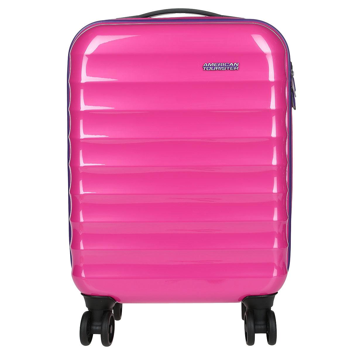 "Чемодан American Tourister ""Palm Valley"", цвет: розовый, 32 л 02G*90001"