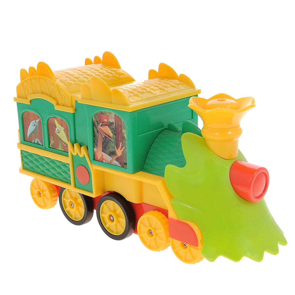Tomy Игрушка на радиоуправлении Поезд Динозавров Путешествие во времени