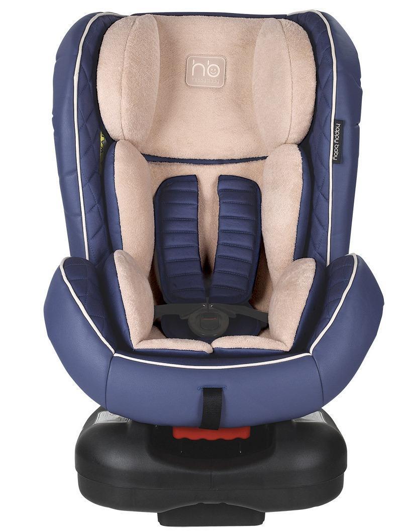Автокресло Happy Baby Taurus BlueSC-FD421005Taurus - автомобильное кресло групп 0/I (для детей от 0 до 18 кг). Внешняя часть кресла выполнена из качественной экокожи, приятной на ощупь, которая не пачкается и имеет водоотталкивающий эффект. Благодаря дышащей фактурной вкладке малыш будет чувствовать себя комфортно. Кресло имеет 4 положения наклона спинки, оснащено удобным механизмом регулировки. Ребенок фиксируется в кресле с помощью пятиточечных ремней безопасности, оснащенных регулируемыми по высоте накладками. Вы можете комфортно поместить малыша в кресло и быть уверенными в его безопасности. Автокресло крепится в автомобиле с помощью трехточечных штатных ремней безопасности и устанавливается лицом по ходу или против движения автомобиля.