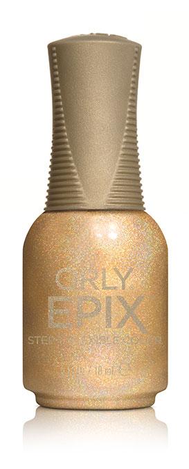 Orly Эластичное цветное покрытие EPIX Flexible Color 933 SPECIAL EFFECTS, 18 мл1301210Двухфазная эластичная система Flexible Color System - это новейшая запатентованная технология последнего поколения от ORLY, объединившая функции лака для ногтей и гибридных гелевых покрытий. Она обеспечивает прочное эластичное покрытие благодаря содержанию инновационных амортизирующих полимеров. Технология Flexible Color System подразумевает взаимное сцепление цветного лака и верхнего покрытия. Оба препарата системы EPIX дополняют друг друга и действуют вместе.А простое нанесение без подтеков обеспечивается благодаря технологии Smudge-Fixing, которая содержит полимеры, делающие покрытие эластичным и гибким, словно натуральные ногти. Лак быстро выравнивается, исключая смазывание во время нанесения.И еще один плюс, который все женщины оценят по достоинству - инновационная кисть ORLY EPIX. Она обеспечивает точное нанесение и идеальную ровную линию возле кутикулы. Максимальный контроль за результатом гарантирован:• 600 щетинок + плоская кисть• Максимально точное нанесение• Гладкое и плотное покрытие в одно касание кисти• Изогнутый контур кисти для безупречной линии возле кутикулыEPIX от ORLY сочетает все лучшие свойства в одном покрытии – эластичное покрытие без сколов, словно единое целое с ногтями.