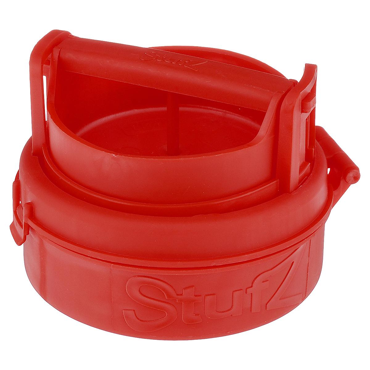 Пресс для формирования котлет с начинкой Bradex От шефа, цвет: красный, 12 х 12 х 6 смTK 0150Пресс Bradex От шефа, изготовленный из пищевого пластика, представляет собой форму с подъемным дном и откидной крышкой. Благодаря прессу вы сможете порадовать своих родных и близких котлетами со всевозможными начинками. С ним вы сделаете котлеты, которые придутся по вкусу каждому. Идеальные по форме и размеру котлеты не развалятся во время жарки, запекания в духовке или приготовления на гриле. Преимущества: - легко использовать и мыть, - формирует котлеты и зразы идеальной формы, - возможно использование любого мясного или рыбного фарша, а также фарша из птицы, - подходит для приготовления вегетарианских котлет, - ничто не ограничит вас в выборе начинки, - не занимает много места при хранении.
