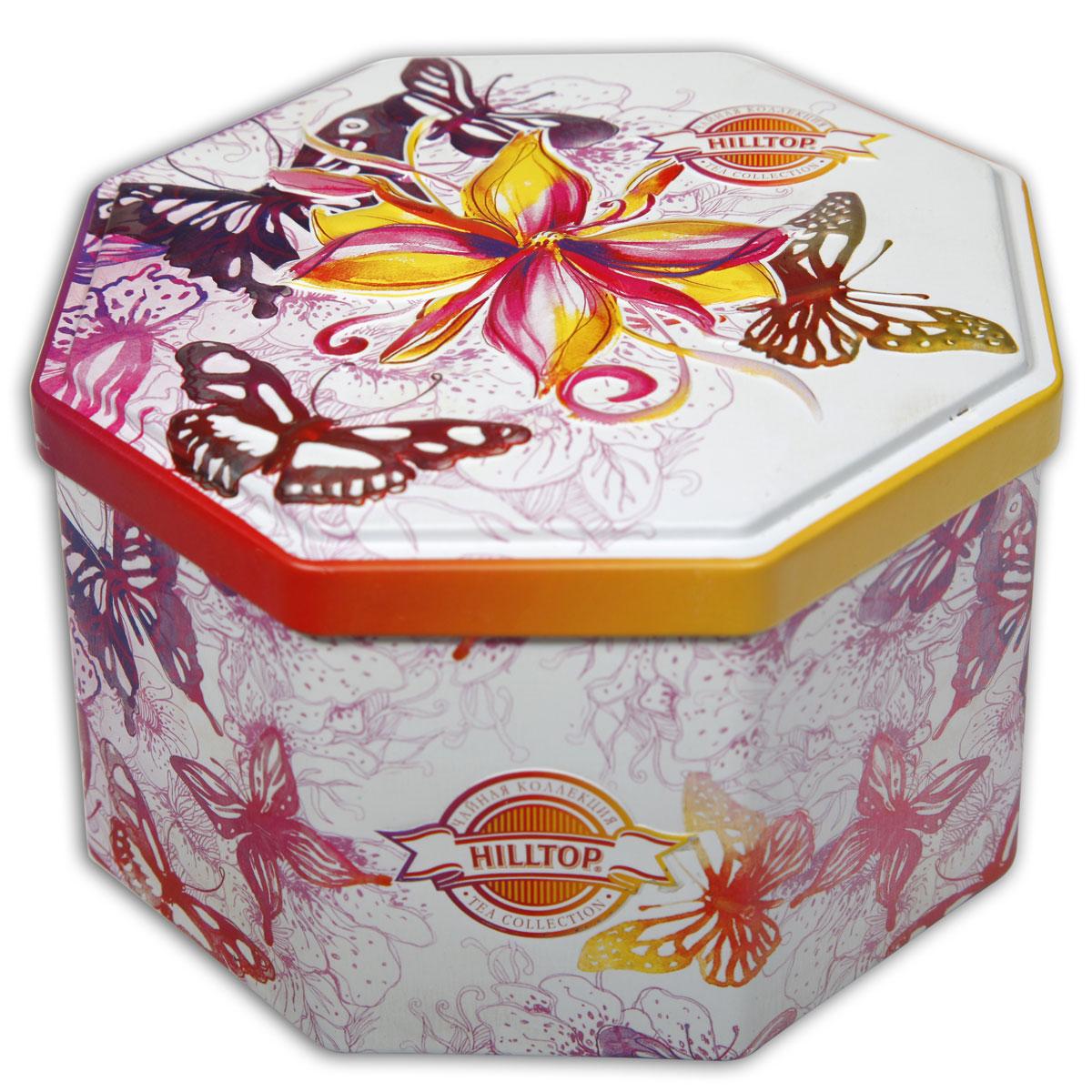 Hilltop Королевское золото черный листовой чай, 150 г4607099302549Hilltop Королевское золото - крупнолистовой терпкий черный чай стандарта Супер Пеко с лучших плантаций острова Цейлон.