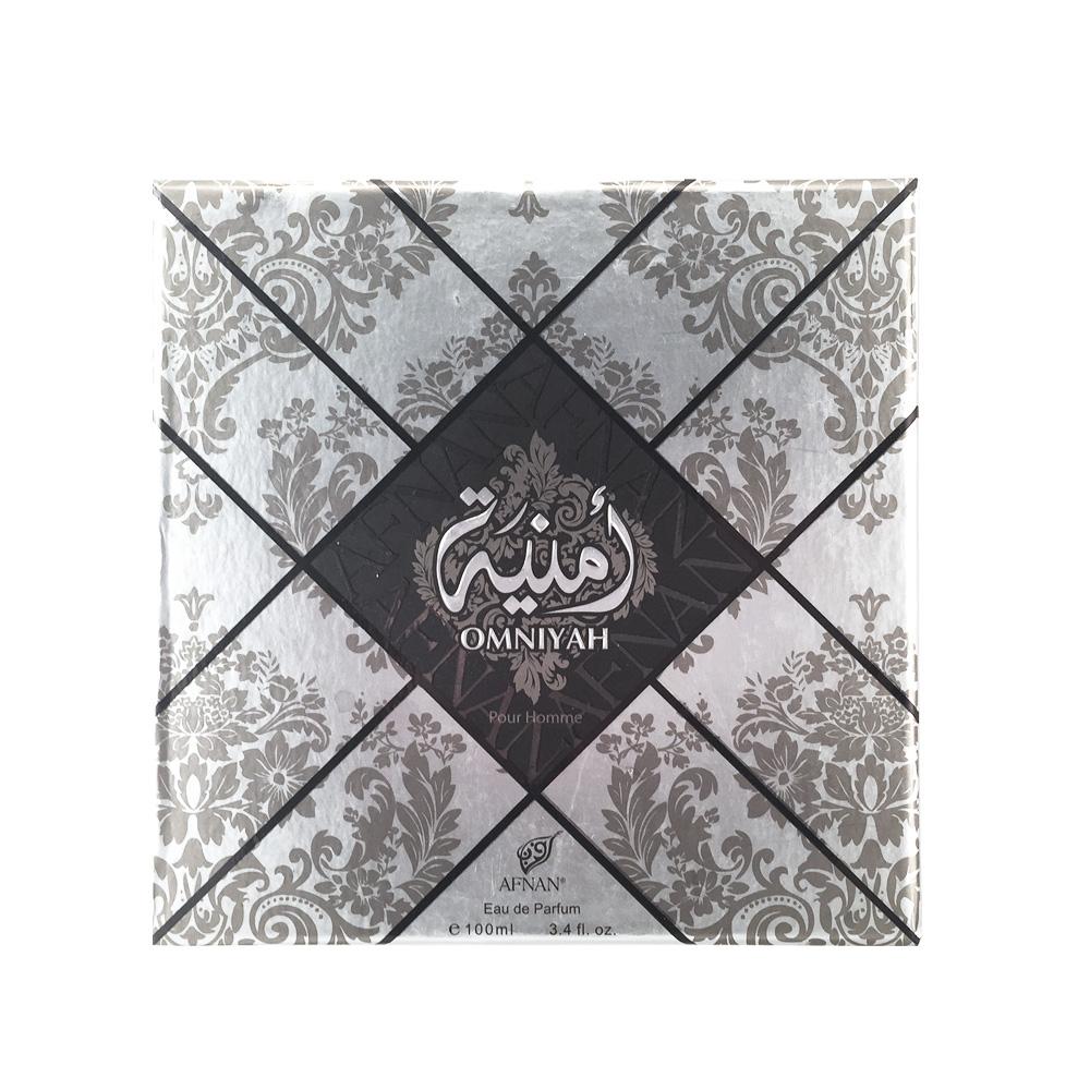 Afnan Omniyah Pour Homme Туалетные духи, Мужские, 100мл210562Обольстительный древесно-фужерный аромат для мужчин OMNIYAH POUR HOMME «Желание», Облачен в роскошный восточный флакон. Базовые ноты амбры, кедра, мускуса, подчеркнуты ароматом лаванды и лайма, что делает аромат притягательным , а обладателя аромата – желанным .Верхние ноты: лайм, лимон Ноты «сердца»: кожа, лаванда Базовые ноты: белый кедр, амбра, мускус