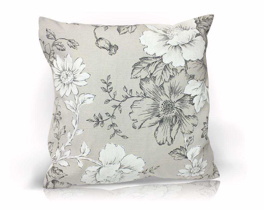 Декоративная подушка Зафиро, размер 40х40см, цвет серыйUN121021620
