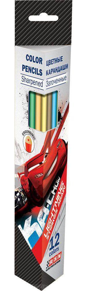 Набор карандашей Kinderline International Ltd. Cars CRAB-US1-3P-12CRAB-US1-3P-12Канцелярский набор Cars станет незаменимым атрибутом в учебе любого школьника. Цвет: серый. Материал: Дерево, . Поверхность: Бумага. Упаковка: Коробка картонная.