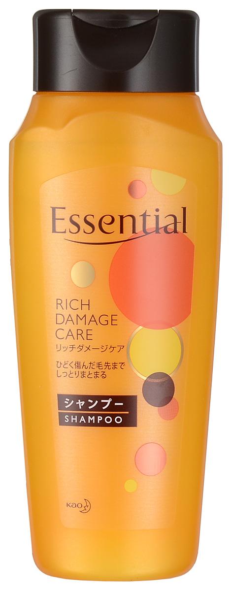 Essential Рич Премия Шампунь для поврежденных волос, 200 мл292889Премиум-шампунь для восстановления сухих, поврежденных, волос с легким ароматом цветов фруктовых деревьев. Шампунь интенсивно увлажняет сухие, окрашенные, сильно поврежденные волосы, питает и восстанавливает их, а также защищает волосы от высыхания при покраске, химической завивке или при использовании фена. Специальная формула двойного концентрирования меда и масла дерева Ши лечит, питает, увлажняет и придает эластичность волосам. Экстракт яблока, входящий в состав шампуня, обладает смягчающими, тонизирующими, освежающими свойствами, наполняет волосы энергией витаминов, поддерживает естественный уровень увлажненности кожи головы и волос, придает шелковистость. Масло жожоба защищает волосы от ломкости, сечения кончиков и способствует росту новых волос. Волосы становятся эластичными, воздушными и объемными, приобретают здоровый блеск благодаря маслу подсолнечника.